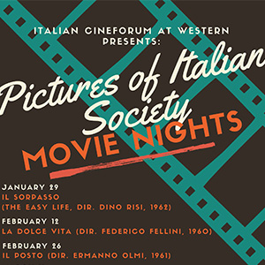 Cineclub italiano Winter 2020