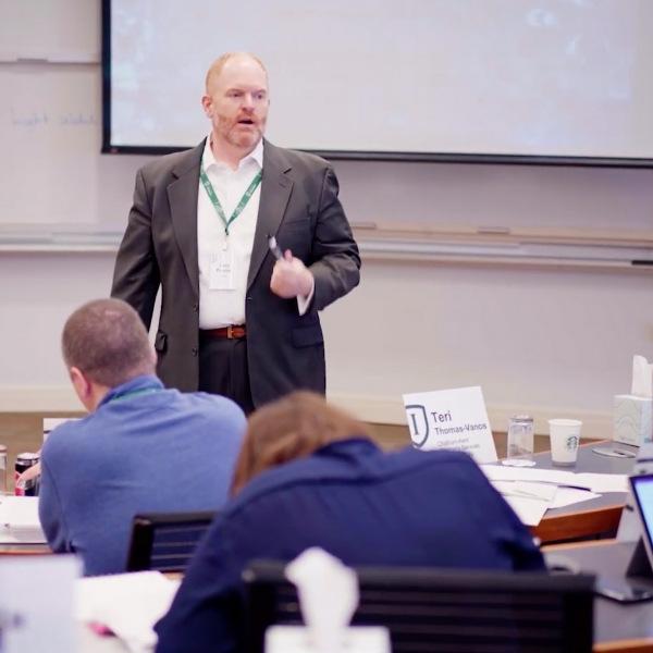 Image of Larry Plummer teaching.