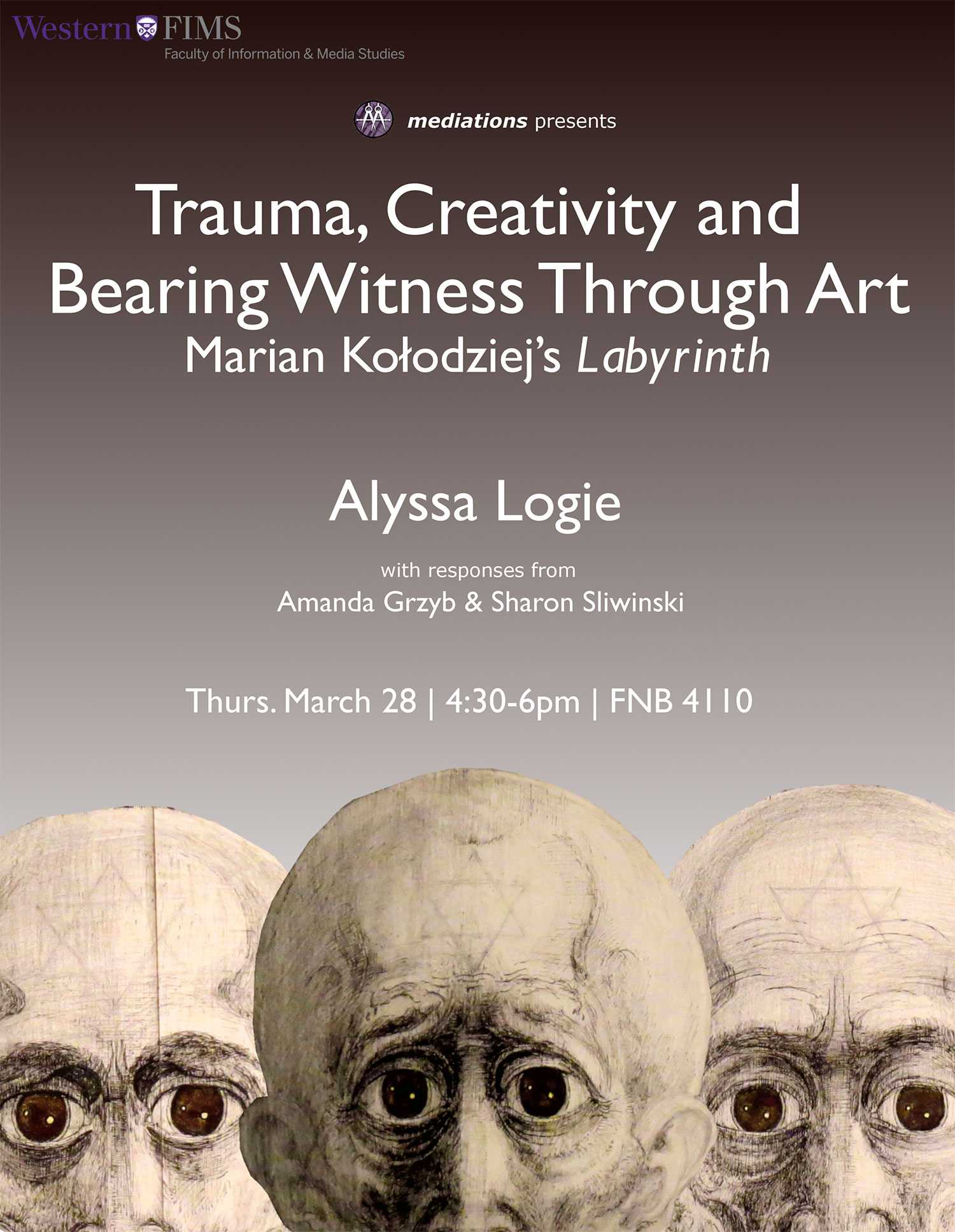 Poster for Bearing Witness Through Art
