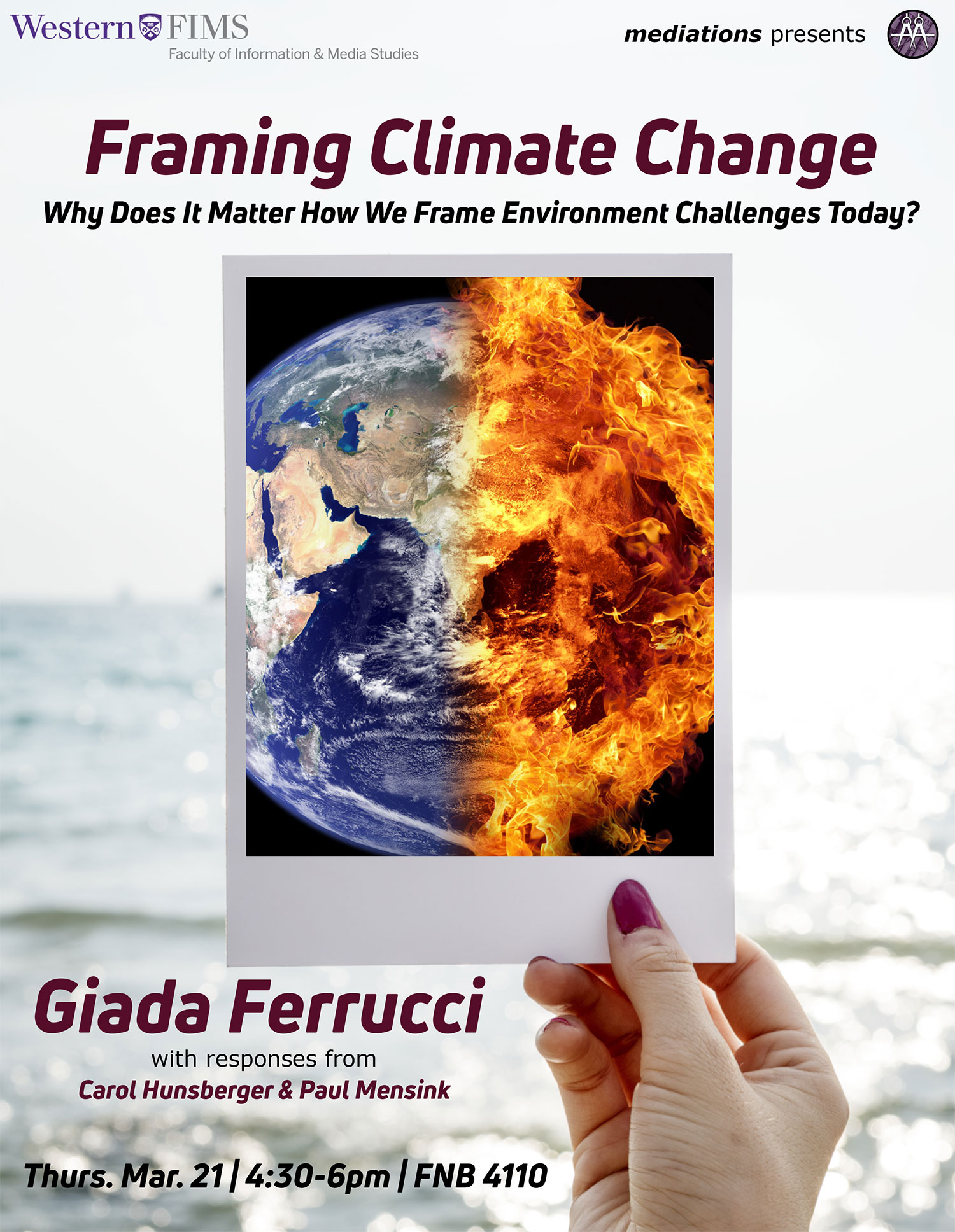 Poster for Framing Climate Change