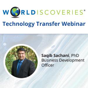 WORLDiscoveries logo and saqib sachani picture