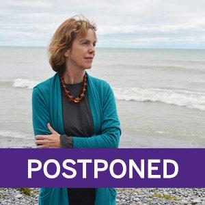 Jane Urquhart event is postponed