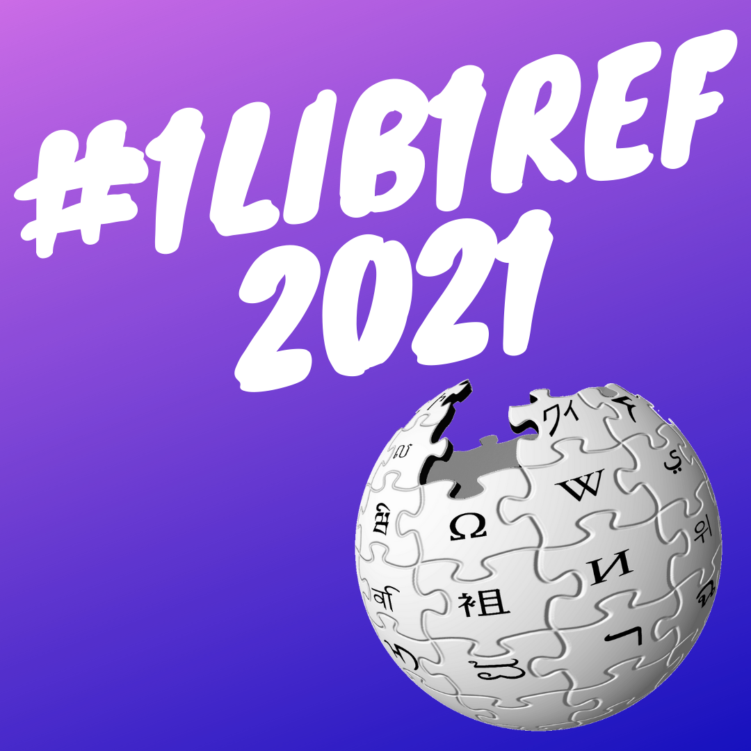 1Lib1Ref 2021