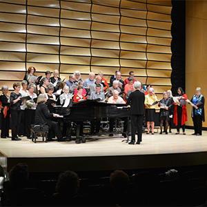 Western Music Alumni Choir Concert in von Kuster Hall