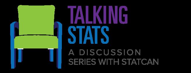 Statscan Talking stats discussion series logo