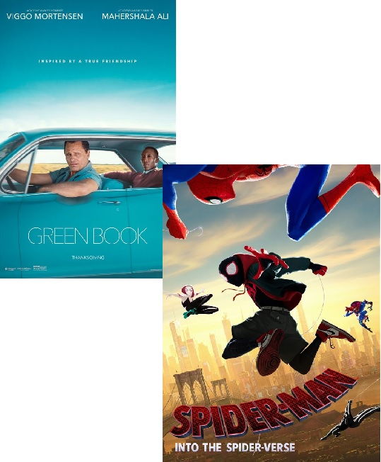 Green Book and Spider-Man