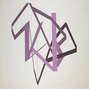 image credit: Suzanne Duquet, PARR IX, 1976, oil, colored pencil on paper, 61 x 45.75 cm. Collection d'oeuvres d'art de l'UQAM (1992.30.9).