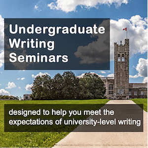Undergraduate Writing Seminars