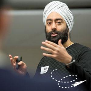 Ash Singh, HBA 2004, facilitates Deloitte Entrepreneurship Bootcamp