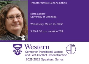 Kiera Ladner, University of Manitoba
