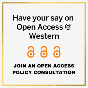 Have your say on Open Access at Western