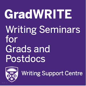 Writing Seminars for Grads and Postdocs